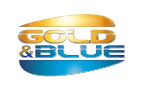 GOLD & BLUE Logo