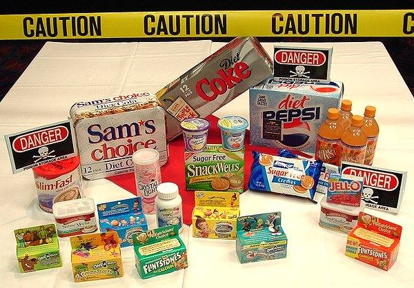 Image result for foods with artificial sweeteners